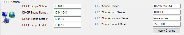 DHCPSection